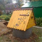 Домик для колодца - производство