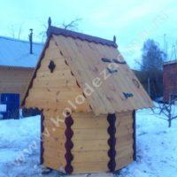 колодец для дачи домики производство