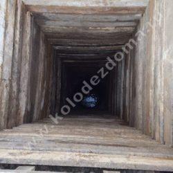 колодец для дачи шахта из дерева