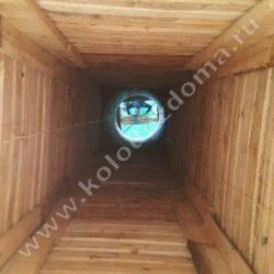 колодец для дачи из дерева