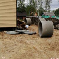 кольца и крышки для бетонного септика