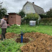 водоснабжение для дачи - кессон