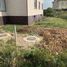 септик для канализации - установка на дачном участке