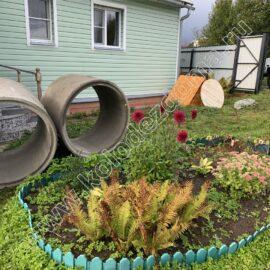кольца и домик для колодца на участке
