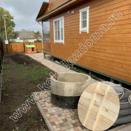 установка системы водоснабжения и канализации из колодца под ключ для дома