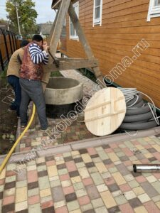 система водоснабжения из колодца под ключ для дома