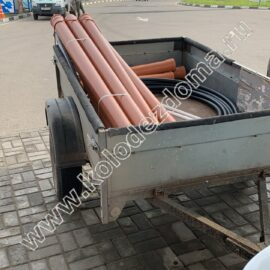 трубы для бетонного септика - доставка