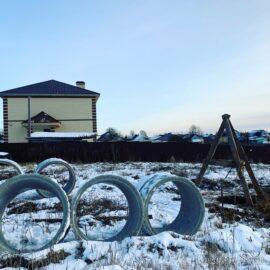 кольца для септик расположение напротив дома