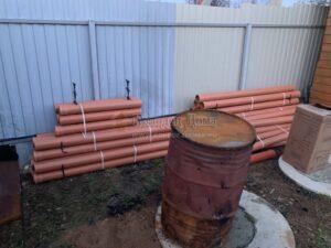 Подключение к центральному водопроводу на даче в Переславском районе