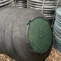материалы для бетонных септиков - кольца, крышки, люки, трубы, переливы