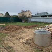 бетонный колодец для дачи