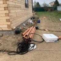материалы для установки канализации на даче