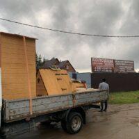 доставка и установка домика для колодца