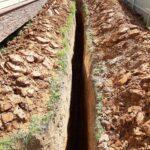 водоснабжение дачи из колодца монтаж труб водопровода в траншее