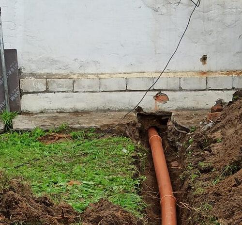 Как устанавливают септики из колец в Переславском районе
