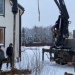 как копают колодцы машинным бурением в зимнее время
