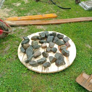 осиновый щит и фильтр из речных камней