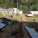 возможен и зимний вариант трубопровода канализации